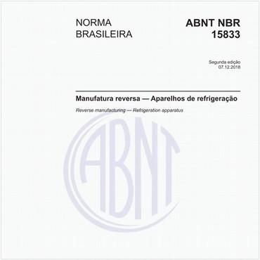 NBR15833 de 12/2018