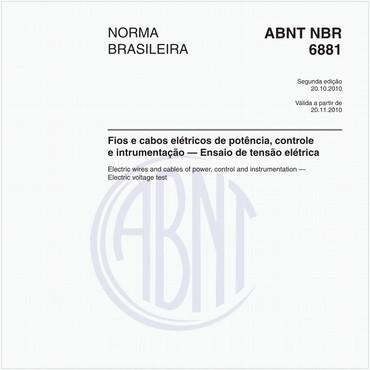 NBR6881 de 10/2010