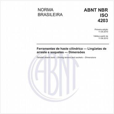 NBRISO4203 de 05/2010