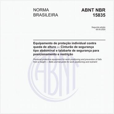NBR15835 de 05/2020
