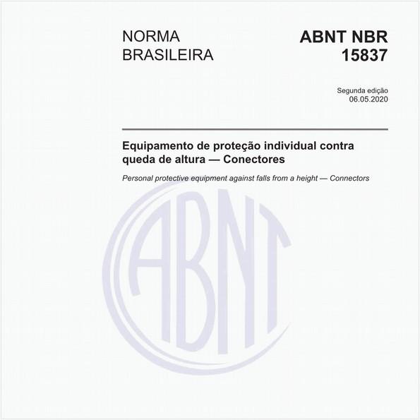 Equipamento de proteção individual contra queda de altura — Conectores