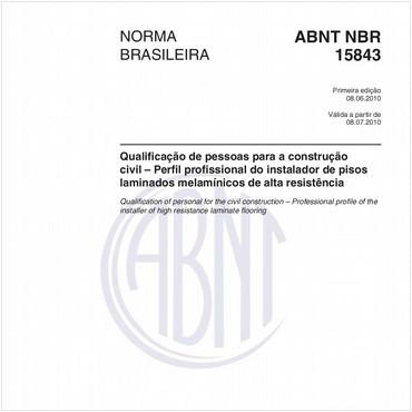 NBR15843 de 06/2010