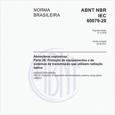 NBRIEC60079-28 de 11/2016