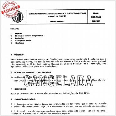 NBR7064 de 12/1981