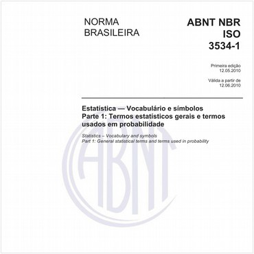 NBRISO3534-1 de 05/2010