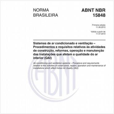 NBR15848 de 06/2010
