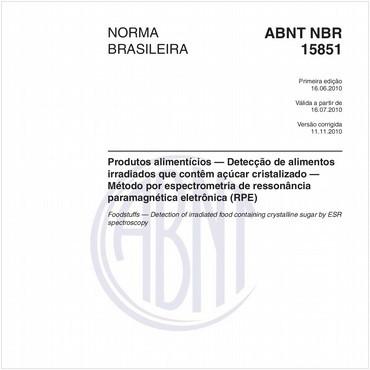 NBR15851 de 06/2010