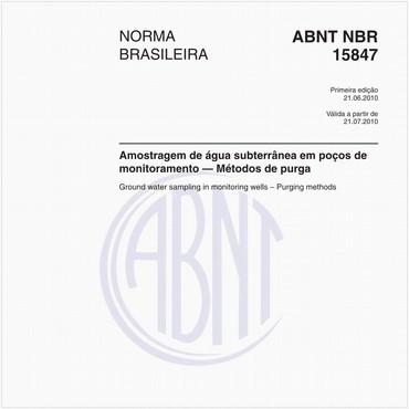 NBR15847 de 06/2010