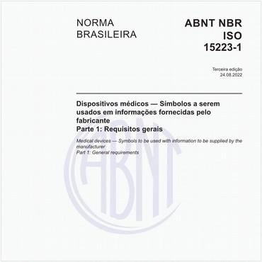 NBRISO15223-1 de 07/2015