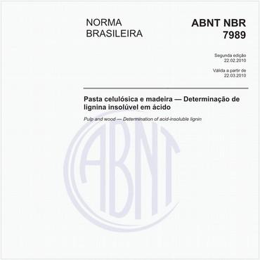 NBR7989 de 02/2010