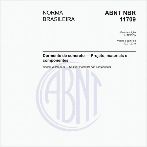 Dormente de concreto - Projeto, materiais e componentes