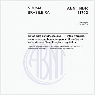 NBR11702 de 09/2019