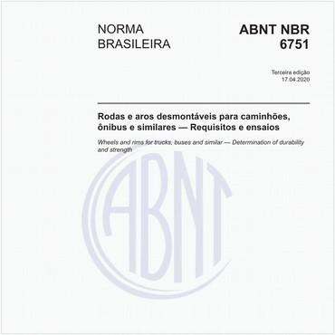 NBR6751 de 04/2020