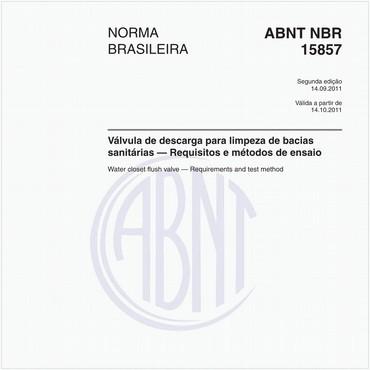 NBR15857 de 09/2011