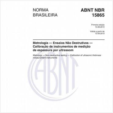 NBR15865 de 08/2010