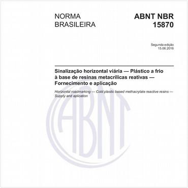 NBR15870 de 06/2016
