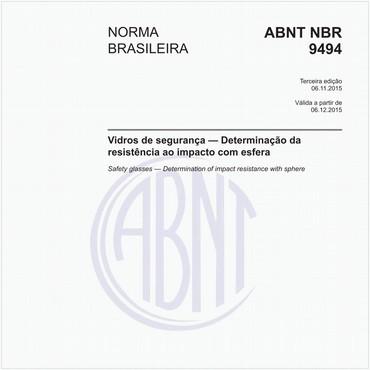 NBR9494 de 11/2015
