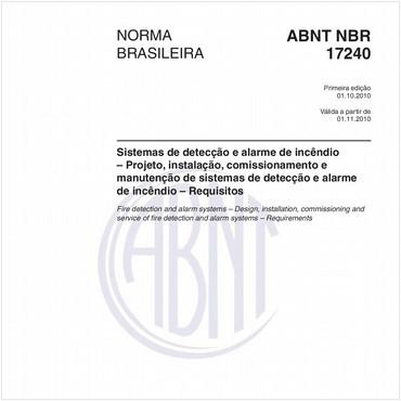 NBR17240 de 10/2010