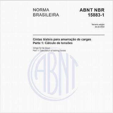 NBR15883-1 de 04/2015
