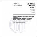 NBRNM-ISO3310-1 2011