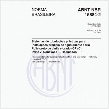 NBR15884-2 de 10/2011