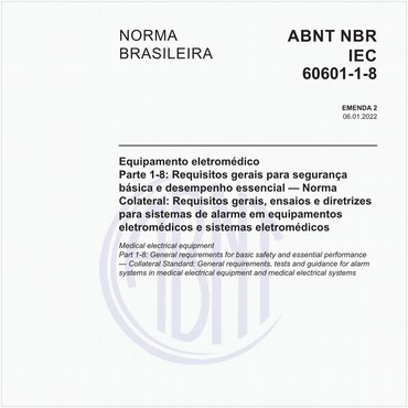 NBRIEC60601-1-8 de 11/2014
