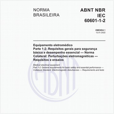 NBRIEC60601-1-2 de 12/2017