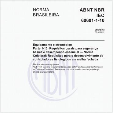 NBRIEC60601-1-10 de 05/2017