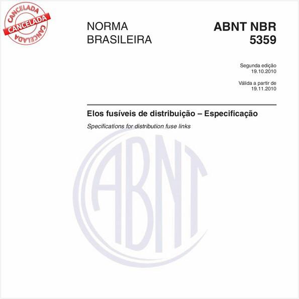 NBR5359 de 04/2011