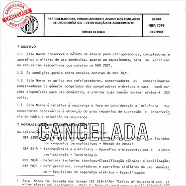 NBR7076 de 12/1981