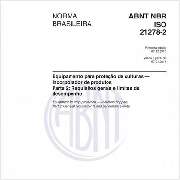 NBRISO21278-2 de 12/2010