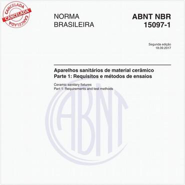 NBR15097-1 de 09/2017