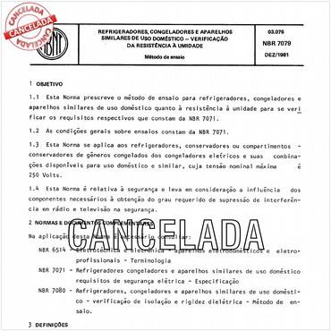 NBR7079 de 12/1981