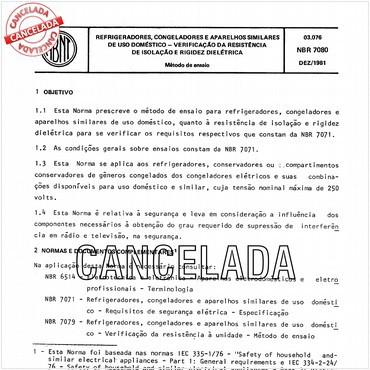 NBR7080 de 12/1981