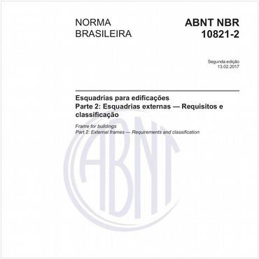 NBR10821-2 de 02/2017