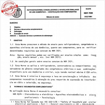 NBR7086 de 12/1981