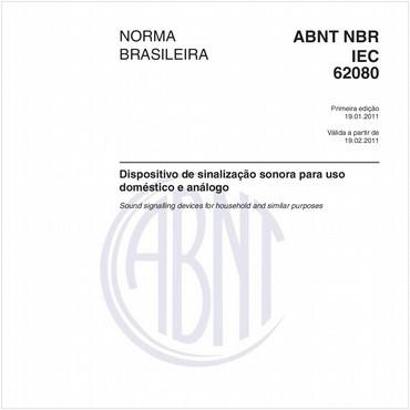 NBRIEC62080 de 01/2011