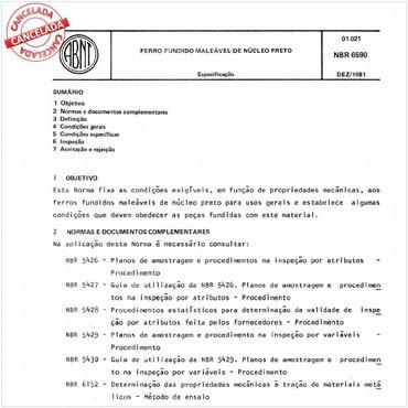 NBR6590 de 12/1981