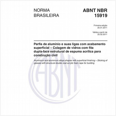 NBR15919 de 01/2011