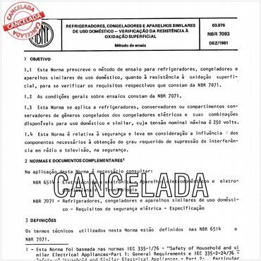 NBR7093 de 12/1981
