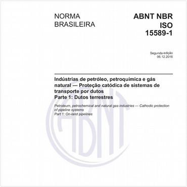 NBRISO15589-1 de 12/2016