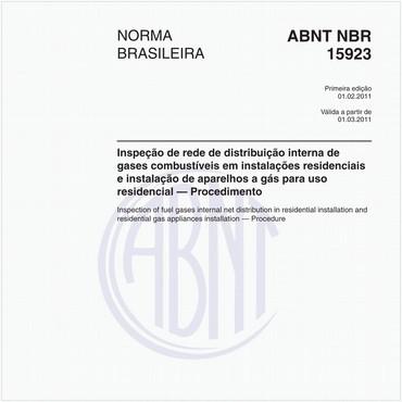 NBR15923 de 02/2011