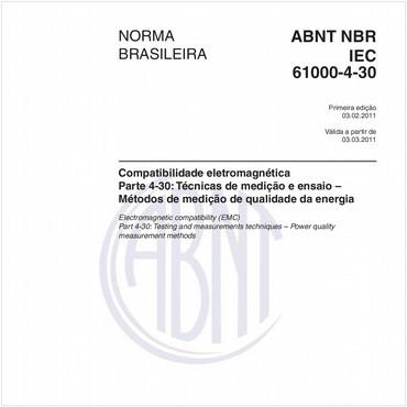 NBRIEC61000-4-30 de 02/2011