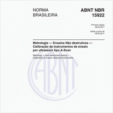 NBR15922 de 02/2011