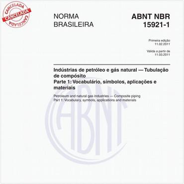 NBR15921-1 de 02/2011