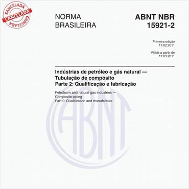 NBR15921-2 de 02/2011