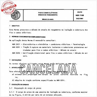 NBR7106 de 12/1981