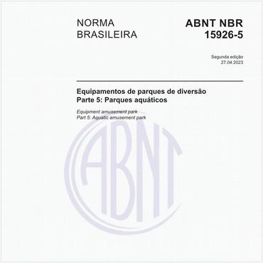 NBR15926-5 de 02/2011