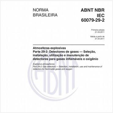 NBRIEC60079-29-2 de 03/2011