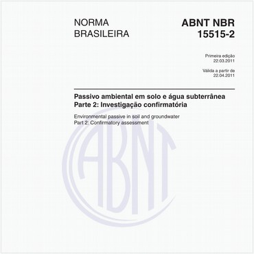 NBR15515-2 de 03/2011